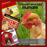 Chicken Book Companion Bundle with Literacy and Stem Materials