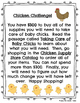 Chicken Challenge - An Integrated Literacy and Math Activity