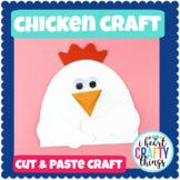 Chicken Craft | Farm Animal Craft for Kids