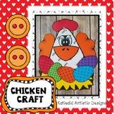 Chicken Craft, Spring Craft, Easter Craft