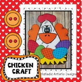 Chicken Craft, Spring Craft, Easter Craft