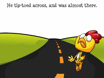 Chicken Cross the Road Emotions Speech Therapy