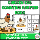Chicken Egg Counting Interactive Book