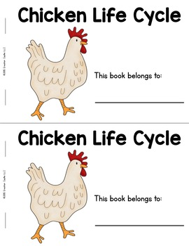 Chicken Life Cycle Guided Reading Book