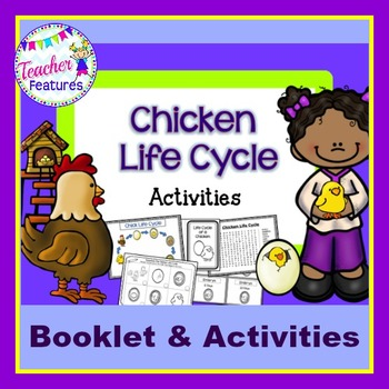 Chicken Life Cycle Booklet and Activities