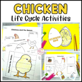 Chicken Life Cycle Activities Flip Books Word Walls Sequencing Spinners