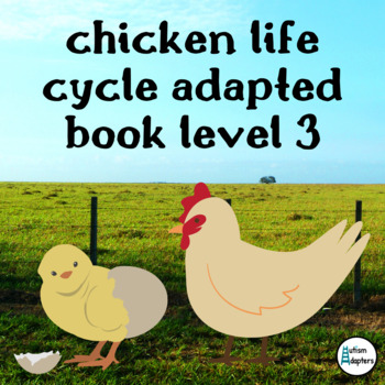 Chicken Life Cycle Adapted Book Level 3