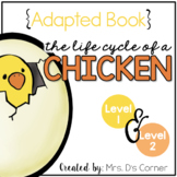 Chicken Life Cycle Adapted Books { Level 1 and Level 2 }