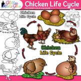 Chicken Life Cycle Clip Art: Habitat & Adaption Graphics {Glitter Meets Glue}