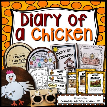 Chicken Life Cycle --- Diary of a Chicken Writing Project & More