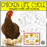 Chicken Life Cycle Emergent Reader and Activities