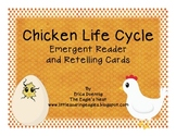 Chicken Life Cycle Emergent Reader and Retelling Cards