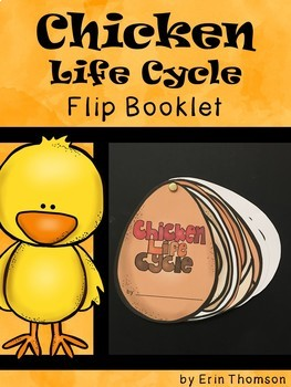 Chicken Life Cycle Flip Booklet