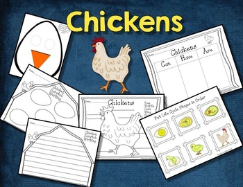 CHICKEN LIFE CYCLE - PowerPoint, Writing, and Hands-On Activities