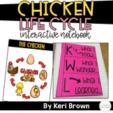 Chicken Life Cycle: Interactive Notebook; Science Mini Unit