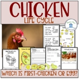 Chicken Life Cycle Activities and Worksheets