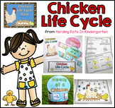 Chicken Life Cycle Pack, Including Journals, Labeling Pages and More!