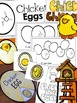 Chicken Life Cycle Pack of Math & Literacy Activities