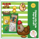 Chicken Life Cycle Pop-Up Craft