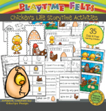 Chicken Life Cycle PreK Printable Worksheets