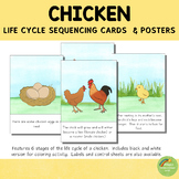 Chicken Life Cycle Sequencing Cards and Posters
