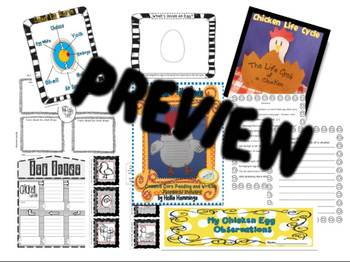 Chicken Life Cycle Unit for Common Core Classroom
