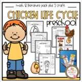 Chicken Life Cycle Math & Literature Plus 2 Crafts