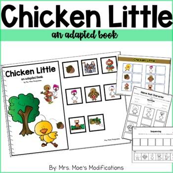 Chicken Little- An Adapted Book