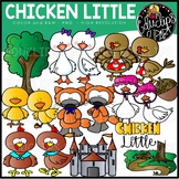 Chicken Little Clip Art Set {Educlips Clipart}