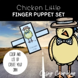 Chicken Little Fairy Tale Finger Puppet Retelling Set