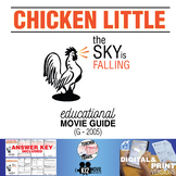Chicken Little Movie Guide   Questions   Worksheet (G - 2005)