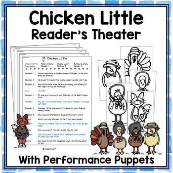Chicken Little -  Reader's Theater and Puppet Fun