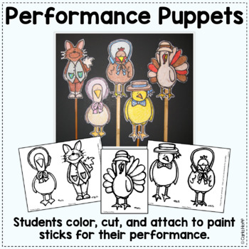 Chicken Little -  Reader's Theater and Puppet Fun