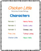 Chicken Little - Readers' Theater Script & More! - Fluency - Common Core