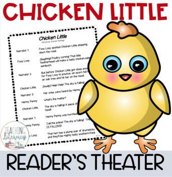 Readers' Theater Script & More! - Chicken Little - Fluency - Common Core