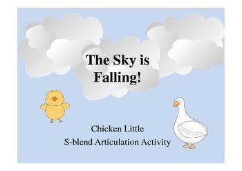 Chicken Little S-blend Activity