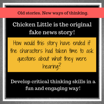 Chicken Little: The Original Fake News Story
