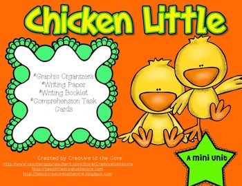 Chicken Little Unit~ Includes Graphic Organizers & Much More!