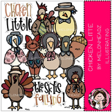 Chicken Little clip art - COMBO PACK- by Melonheadz