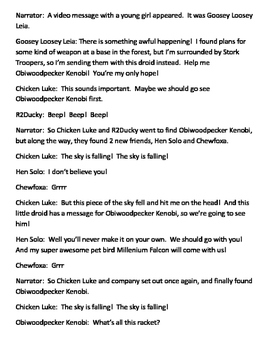 Chicken Luke - A Star Wars Play