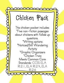 Chicken Non-Fiction Pack
