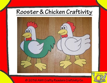 Chicken/Rooster Craftivity