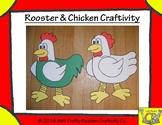 Chicken/Rooster Craftivity