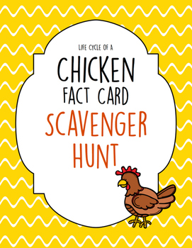 Chicken Scavenger Hunt