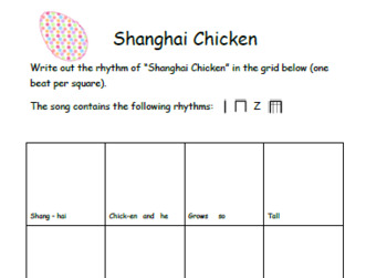 Chicken Songs Pack