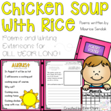 Chicken Soup with Rice Poems and Writing Activities
