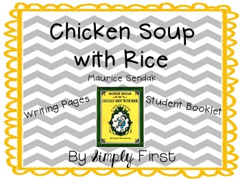 Chicken Soup with Rice Writing Freebie