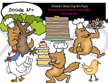 Chicken Stew Clipart Pack