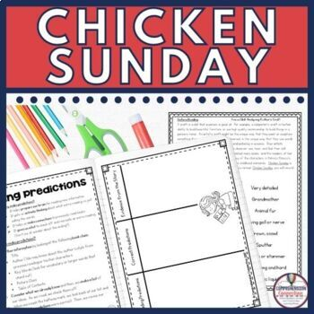Chicken Sunday Guided Reading Bundle in Digital and PDF Formats