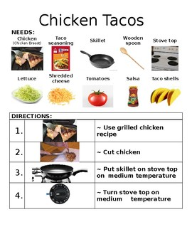 Chicken Tacos Picture Recipe